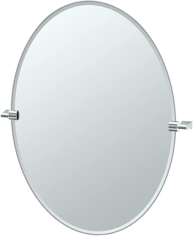 Gatco Ranking TOP9 Ultra-Cheap Deals 4379LG Bleu Oval Large Mirror