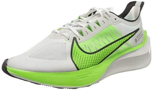 Nike Zoom Gravity, Zapatillas de Running para Hombre, Gris (Platinum Tint/Electric Green/Black/White 003), 43 EU