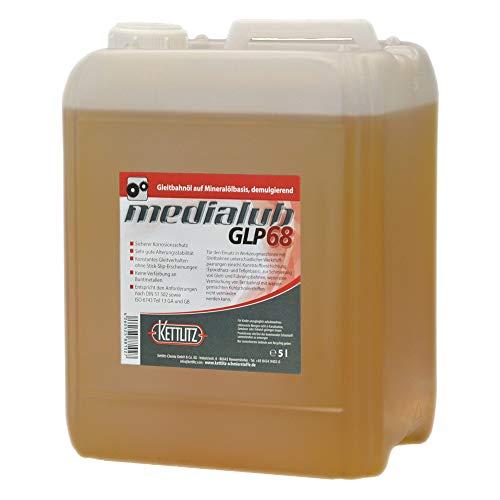 KETTLITZ-Medialub GLP68 - Gleitbahnöl, Bettbahnöl ISO-VG 68/5 Liter