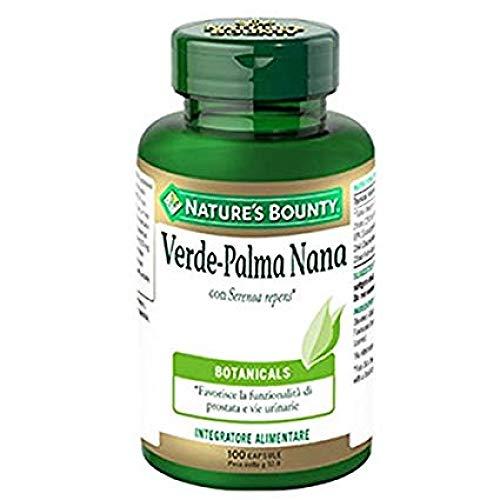 Nature's Bounty Verde Palma Nana Integratore Alimentare 100 Capsule