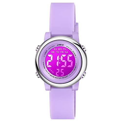 Product Image of the Venhoo Kids Watches Cartoon Waterproof Silicone Children Wristwatches Time...