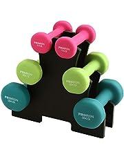 PROIRON Neopreen Halter Haltergewichten Huis Sportschool voor Vrouwen Kindertraining Oefening Handgewichten Halters in 1 kg 1,5 kg 2 kg 3 kg 4 kg 5 kg 8 kg 10 kg Paar