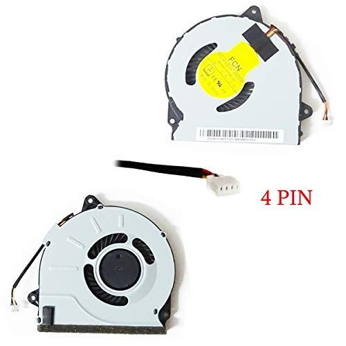 Bucom Ventilador de CPU para IBM Lenovo IdeaPad G40 G40-70 G40-30 G50-40 G50-45 G50-50