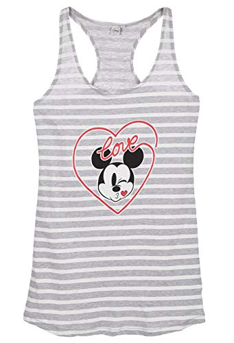 Minnie Mouse Damen Nachthemd, Grau, L