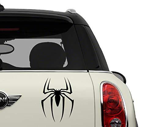 Spiderman Black SCI-FI/Comics/Games Automotive Decal/Bumper Sticker