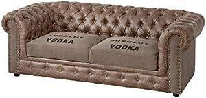 AMUEBLALO - Sofá Chester Vodka
