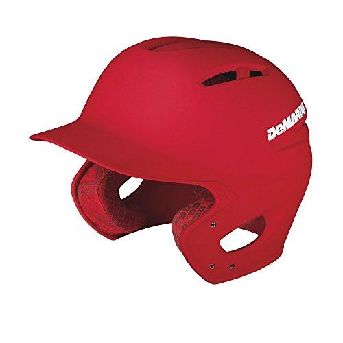 DeMarini Paradox Batting Helmet, Scarlet, Large/X-Large
