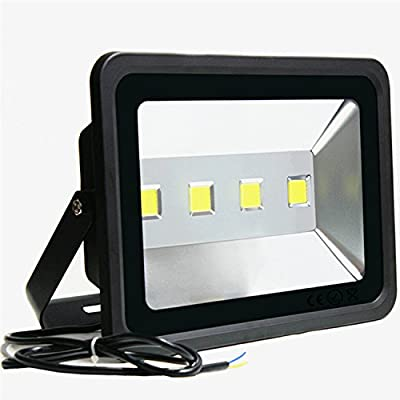 LED Outdoor Floodlight 200W £Jiuding Super Bright 6000K Waterproof LED Safety Light Daylight White Light Equivalent to 1000W Halogen lamp for Home Decoration Lighting