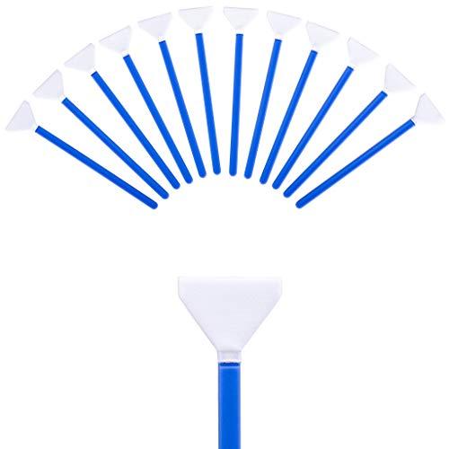 Lens-Aid Sensor Swabs zur Reinigung von Vollformat Kamera Sensoren: 12x Mikrofaser Cleaning Swab 24 mm einzeln verpackt