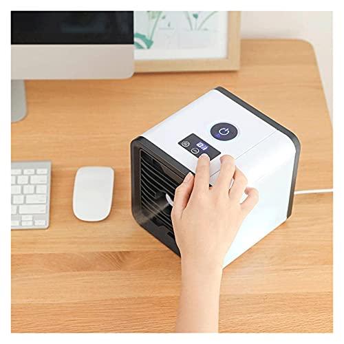 LNLYF Ventolatore di raffreddamento dell'aria portatile e telecomando, alta efficienza di raffreddamento, filtro antipolvere, impostazione di 3 velocità, Dormitorio Smart Smart Power Risparmio energet