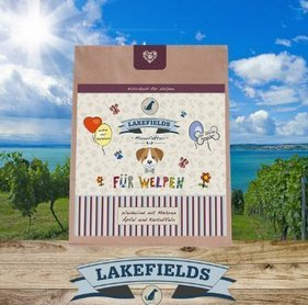 Lakefields Hochwertiges Premium Welpen Hundefutter Rind (2,5kg)