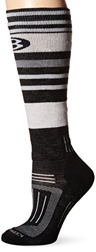 Icebreaker Damen Socken Strümpfe Snow OTC, Black, S