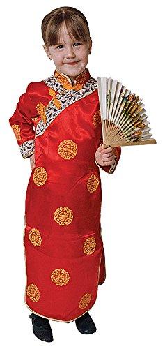Dress Up America-Disfraz de Geisha para niñas: Talla XL 16-18 años, 14 90-109, Altura: 152+ cm (212-XL)