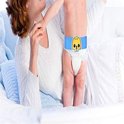 Cinturón de hernia umbilical de bebé ajustable - cordón de armadura de ombligo de ombligo de ombligo de hernia abdominal soporte de carpeta infantil con 3 comprimidos - ombligo de ombligo soporte envo