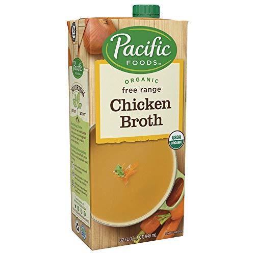 Pacific Foods Organic Free Range Chicken Broth, 32 oz