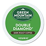 Green Mountain Coffee Roasters Double Diamond, Single-Serve Keurig K-Cup Pods, Dark Roast Coffee, 96 Count