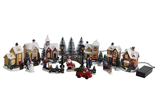 zeitzone Weihnachtsstadt Winter Bild
