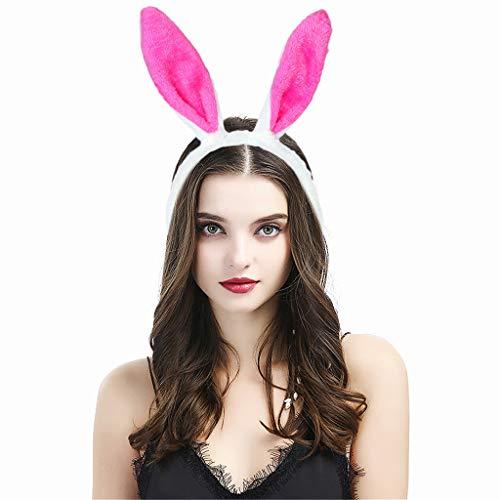 Peluche oreilles de lapin Bandeaux Merveilleux Bandeau oreilles de lapin pour Pâques ou de fête de Pâques Costume de déguisement ou décoration Accessoires de Costume de Pâques