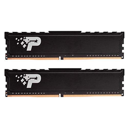 Patriot Memory Serie Signature Premium Kit di Memoria RAM DDR4 2400 MHz PC4-19200 8GB (2x4GB) C17
