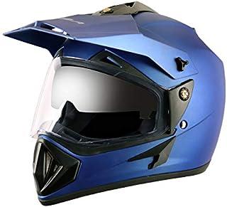 Off Road D/V Dull Blue Helmet-M