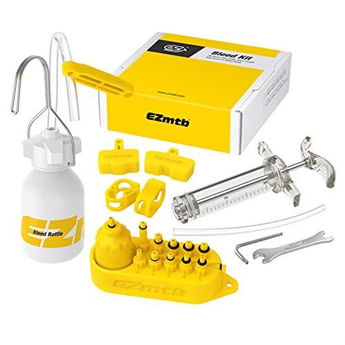 Kit de herramientas de purga de freno hidráulico de bicicleta for Shimano, Tektro, Margura y sistema de frenos de disco de la serie Use herramientas de reparación de ruedas de bicicleta de freno de ac