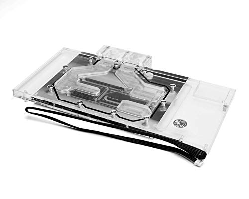 Bykski Full Coverage GPU Water Block for Asus ROG Strix Radeon RX Vega 64 F - Clear (A-ASVEGA-Strix-X)