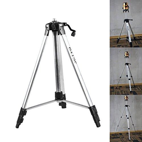 Lailongp - Trípode (aluminio, 150 cm, con adaptador 5 8 para nivel láser)