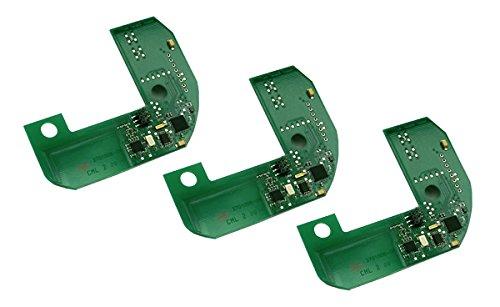 Hekatron Basis X Funkmodul für Rauchmelder - 3er Pack