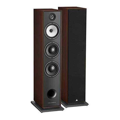 Triangle Borea BR08 Hi-Fi Floor Standing Speaker (Walnut)