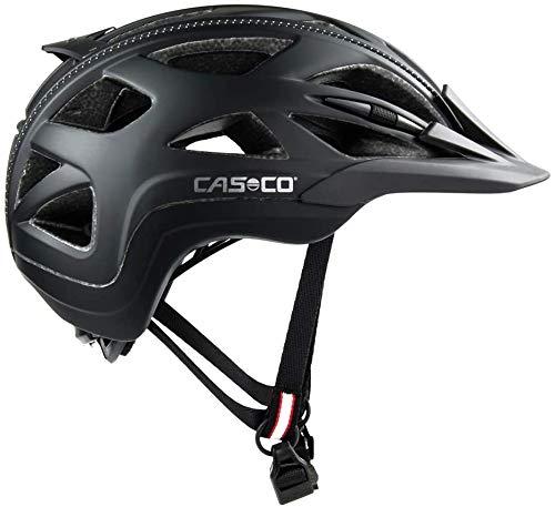 Casco 17.04.0832.S Casque de vélo Mixte, Multicolore (Noir/Anthracite), S (52-56 cm)