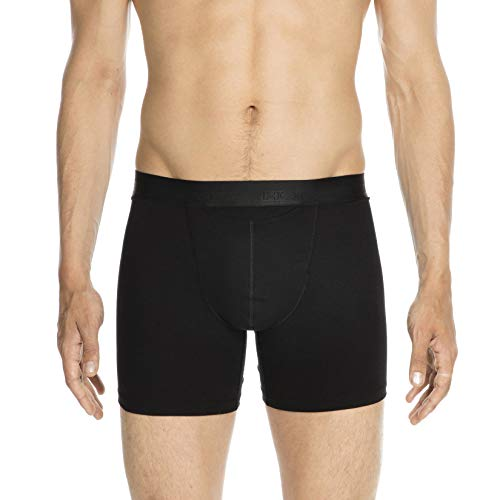 HOM - Herren - Long Boxer Briefs 'HO1' - Retroshorts - Black - Grösse L