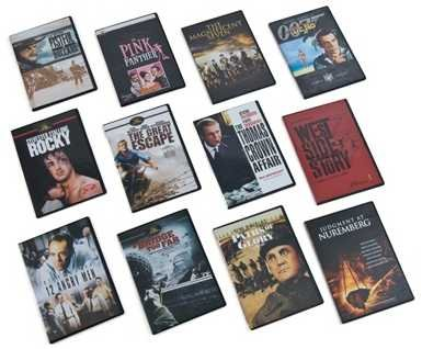 United Artists Cinema Greats (3 box sets, 12 DVDs) Vol. 1, 2, and 3 / 12 Angry Men, A Bridge too Far, Judgement at Nuremberg, Paths of Glory, A Fistful of Dollars, Dr. No, The Magnificient Seven, The Pink Panther, Rocky, The Great Escape, The Thomas Crown Affair, West Side Story