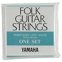 YAMAHA/ヤマハ FS-550×2 フォーク弦/スーパーライト/セット弦×2(FS550)