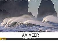 Am Meer. Sehnsucht Wasser (Wandkalender 2022 DIN A3 quer): Das Meer macht Menschen gluecklich! (Monatskalender, 14 Seiten )
