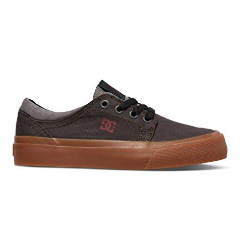 DC DC - - Jungen Trase Tx Lowtop Schuhe, EUR: 29, Grey/Grey/Red