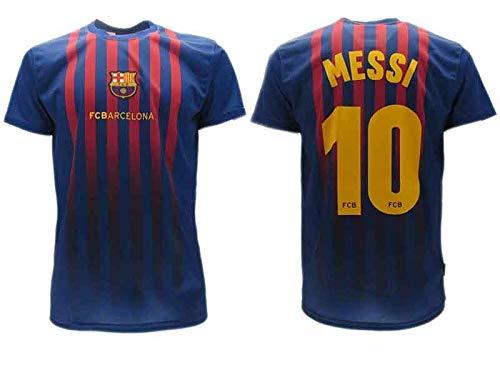 Trikot Fußball Barcelona Lionel Messi 10 Replik zugelassen 2018-2019 Kinder (2,4,6,8,10,12,14 Jahre) Erwachsene (S, M, L, XL), Talla 6 Años