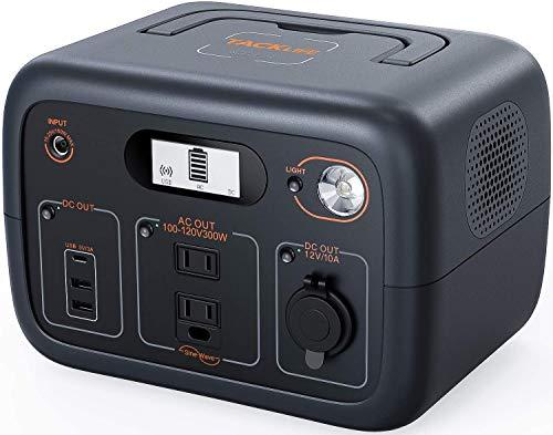 TACKLIFE ポータブル電源 300Wh/96000mAh ワイヤレス充電/AC/DC/USB/Type-C出力 正弦波 液晶大画面表示 50H...