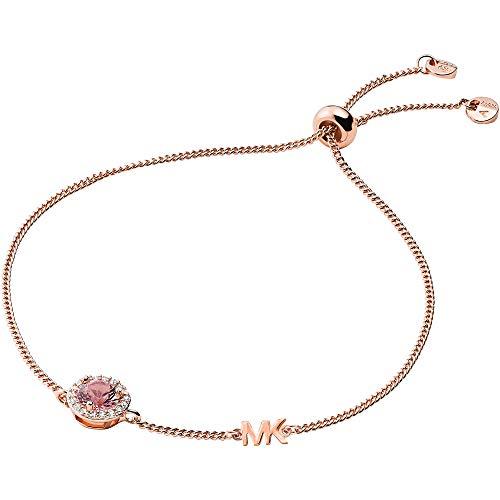 Michael Kors MKC1206A2791 Damen Armband Silber 925 Rose Orange Zirkonia 20 cm
