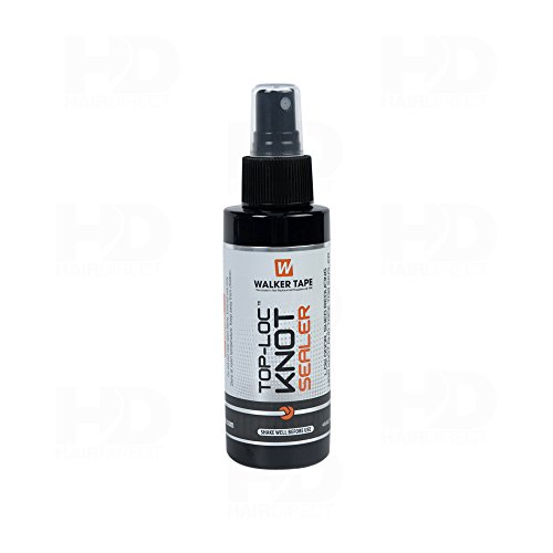 Top-Loc Knot Sealer - 4oz Spray - Wig, Toupee, Lace Hairpiece, Hair System . by Walker