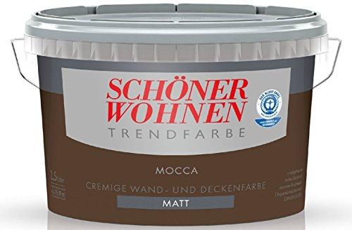 2,5 Liter SCHÖNER WOHNEN FARBE Trendfarbe »mocca«, matt