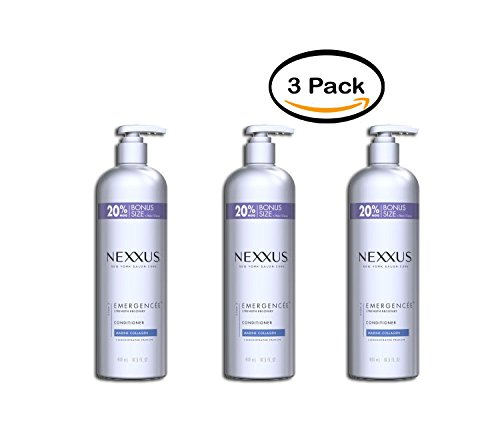 PACK OF 3 - Nexxus Emergencée for Weak and Damaged Hair Conditioner, 16.5 oz