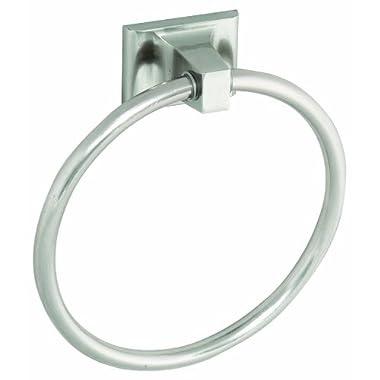 Design House 539163 Millbridge Towel Ring, Satin Nickel