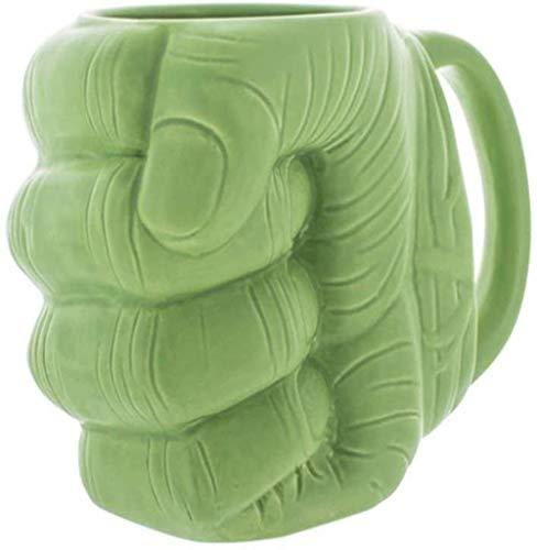 YONGYONGCHONG Tetera gram Taza de cerámica de cerámica Copa Hulk Puño Taza Grip 1yess Caja Necesidades Cup diarias Regalo Hervidor de Agua