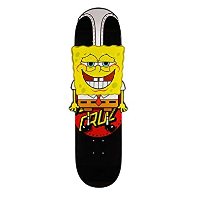 Santa Cruz Spongebob Hanging Out CNC Skateboard Deck