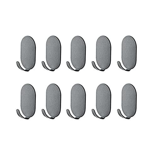 3m Auto-adhesivo Ganchos De Toalla,Baño Resistente Ganchos De Abrigo,Sin Perforación Extraíble Ganchos De Pared Para El Hogar Cocina,10pcs-A 5x3.2cm(2x1inch)