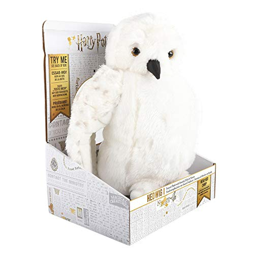 WOW! Stuff Collection Harry Potter Hedwig - Feature Plush with Sounds