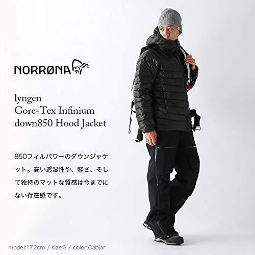 ノローナ『メンズリンゲンゴアテックスダウン850フードジャケット』