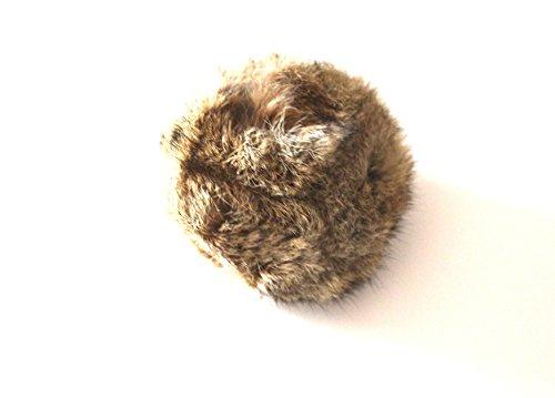 Dog & Field Kaninchenfell Dummy Ball - Fell bedeckt Tennisball