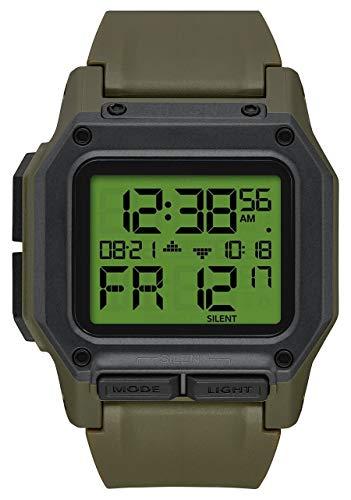 Nixon Armbanduhr Regulus Surplus / Carbon