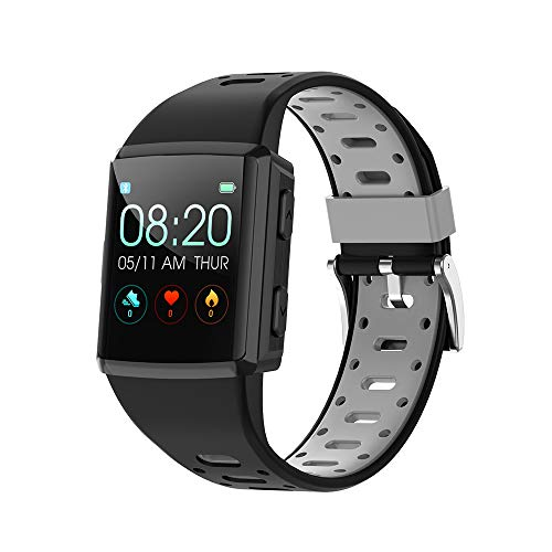 Anmino Build-in GPS Smart Watch for Android iOS Phone, Activity Fitness Tracker Watches Health Exercise Smartwatch with Heart Rate, Sleep Monitor Compatible with Samsung Apple iPhone